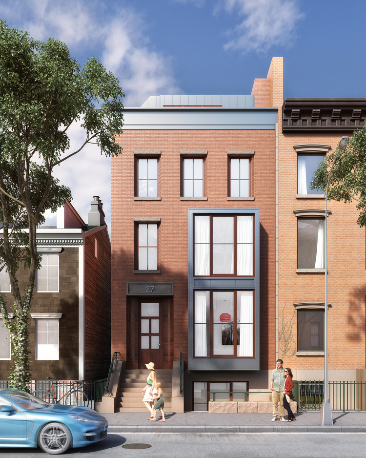 27 Cranberry Street, rendering by Martin Santini