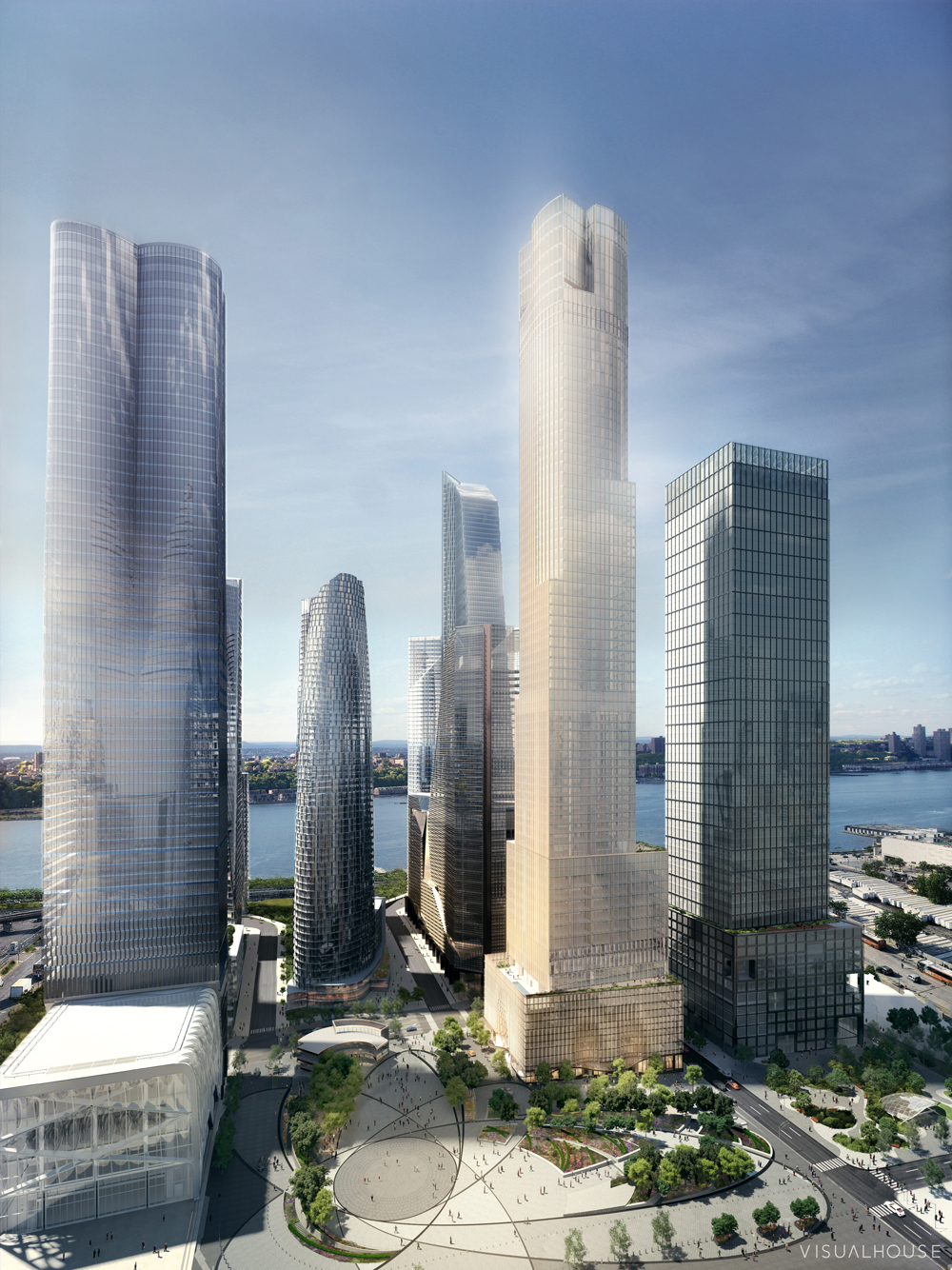 35 Hudson Yards, image by Visualhouse