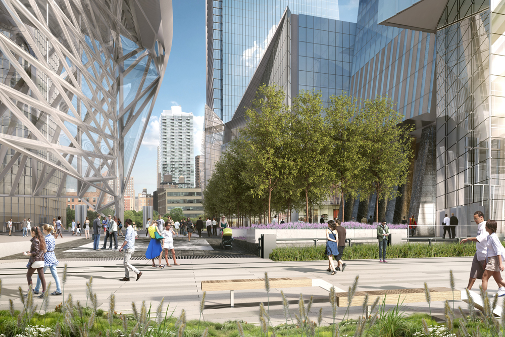 Hudson Yards, image from Related