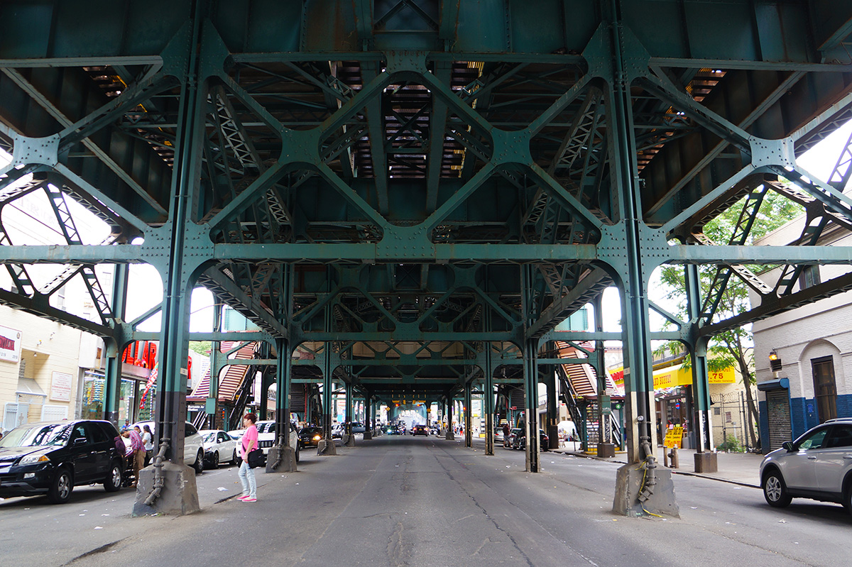 Jerome Avenue near Burnside Avenue