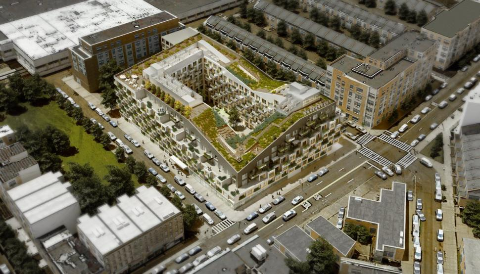 Rabsky's 10 Monteith Street, rendering by ODA