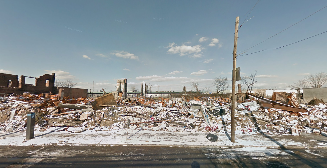 114-06 Rockaway Boulevard in January 2013, image via Google Maps