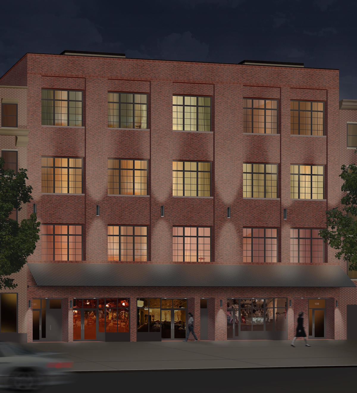 135 Alexander Avenue, rendering via JCAL Development