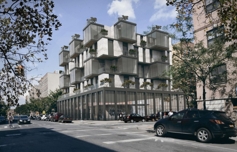 207 South 3rd Street, rendering by Charles Mallea Architect