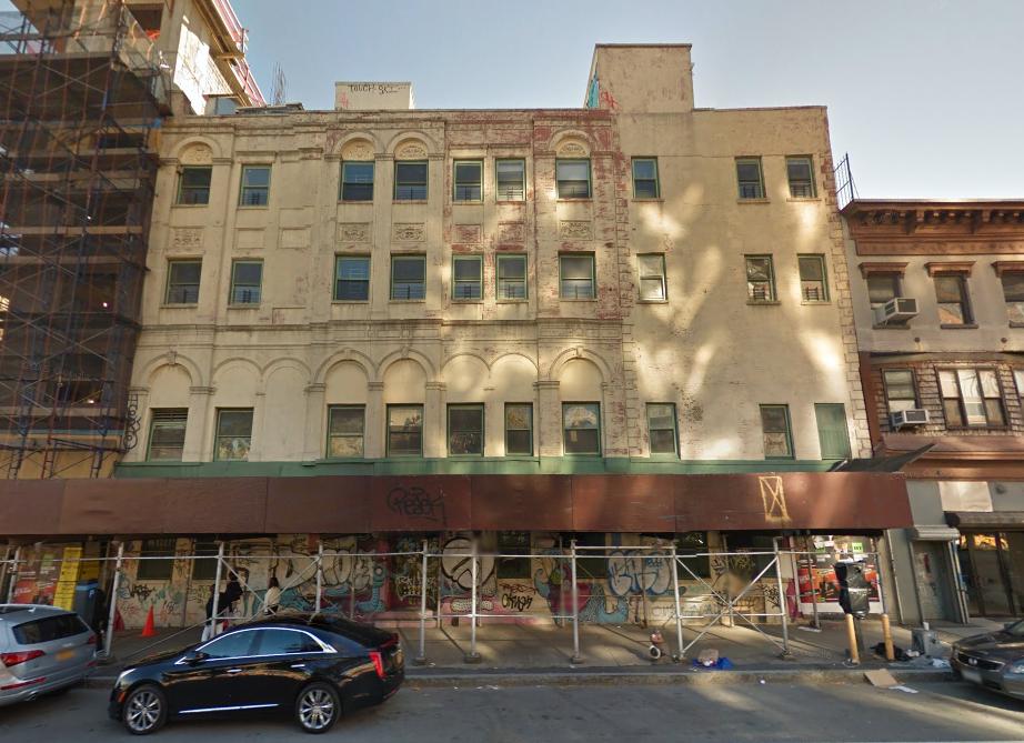 255 East Houston Street, image via Google Maps