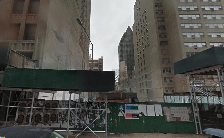 315 East 46th Street in December 2014, image via Google Maps
