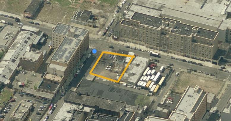 481 East 164th Street, image via Bing Maps