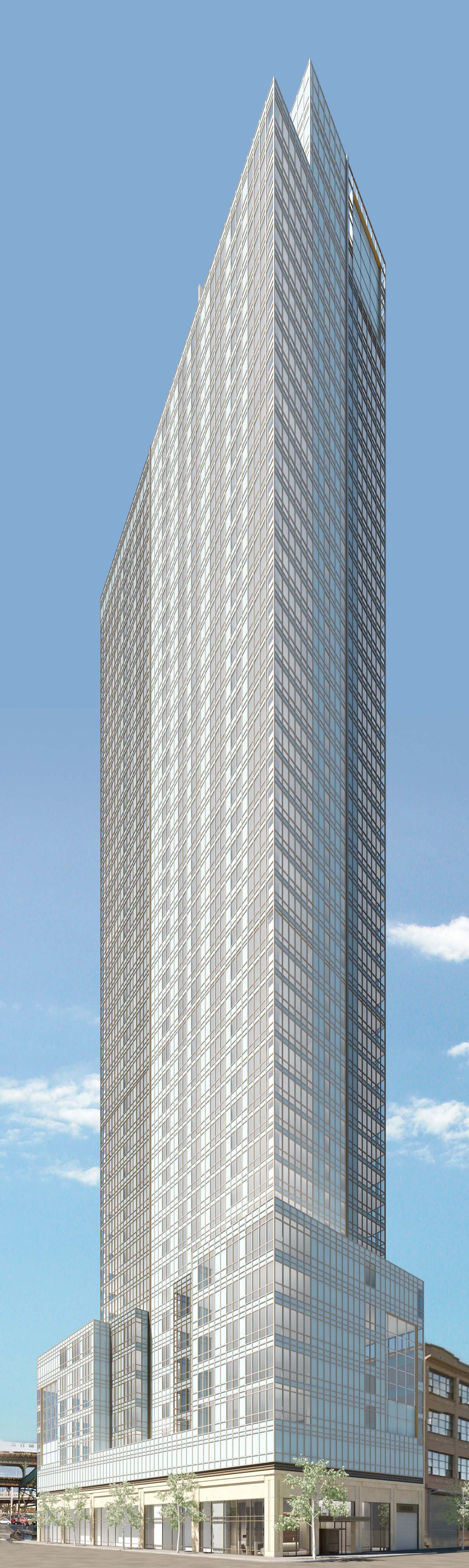 23-10 Queens Plaza South, rendering via Property Markets Group