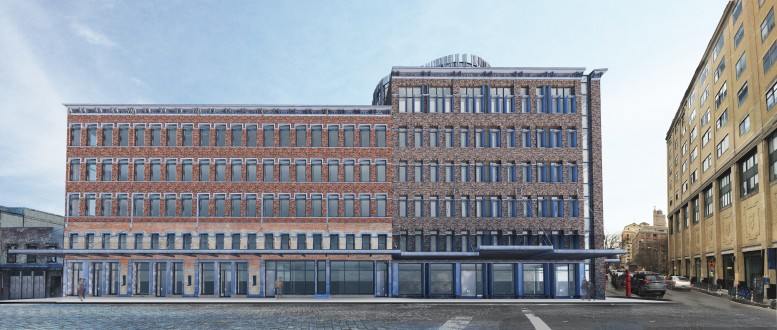 60-74 Gansevoort Street, rendering by BKSK Architects