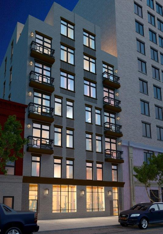 1004-1006 Gates Avenue, rendering by Ellipses Design