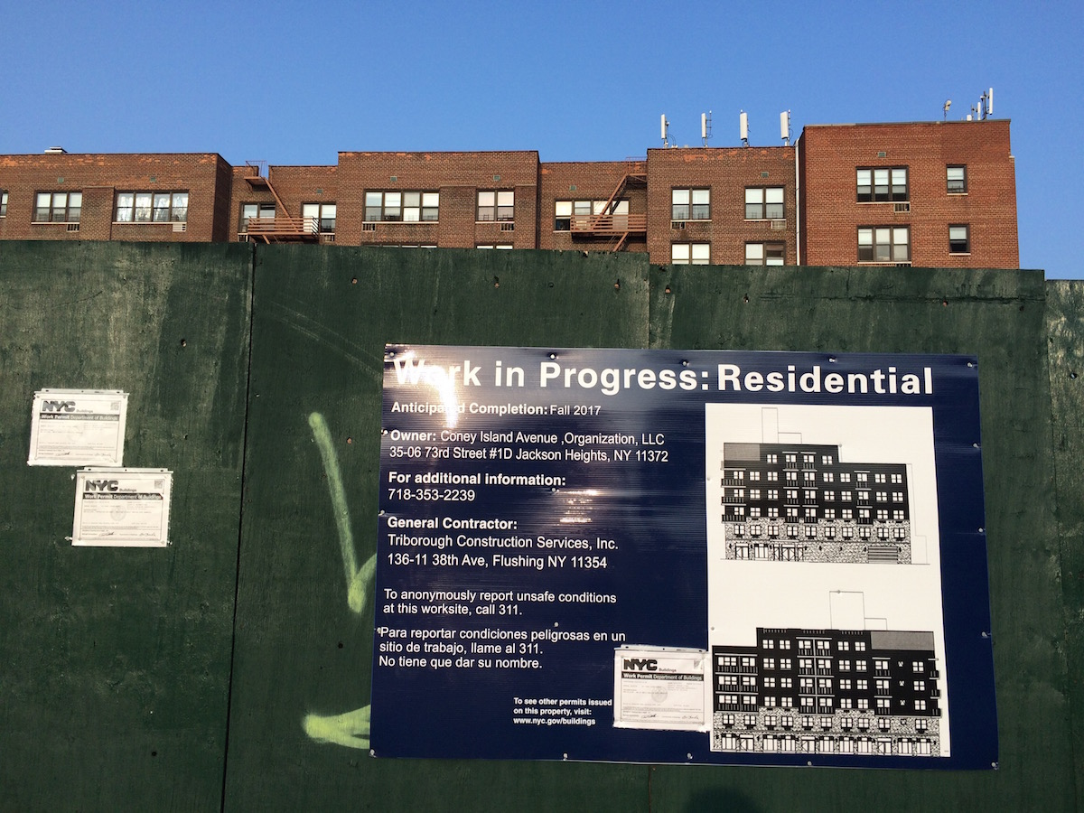 531 Coney Island Avenue, photo by tipster