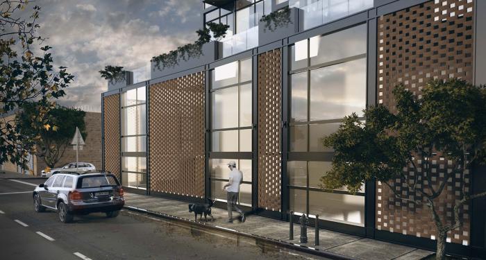 101 Bogart Street, rendering by J Frankl Associates