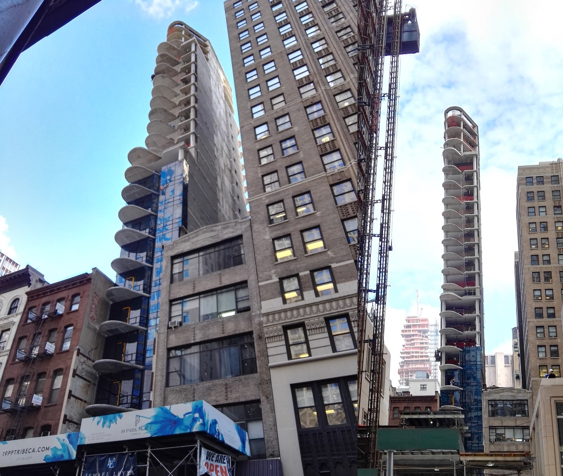 21-Story, 24-Unit Residential Project Tops Out At 19 Park