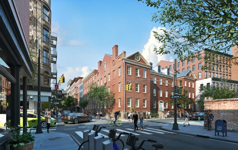 34 Prince Street, rendering by MARCH
