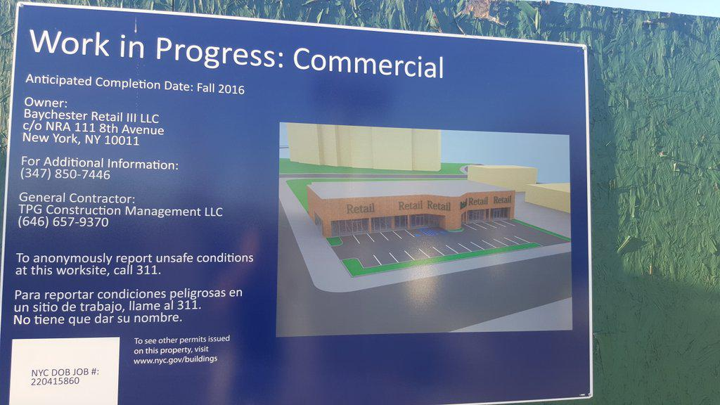 500 Baychester Avenue construction rendering, photo by Mike Giuliani