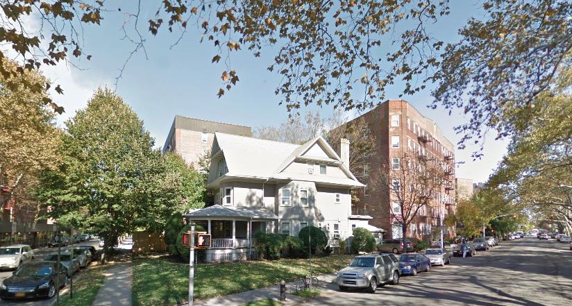 631 East 18th Street in October 2014, image via Google Maps