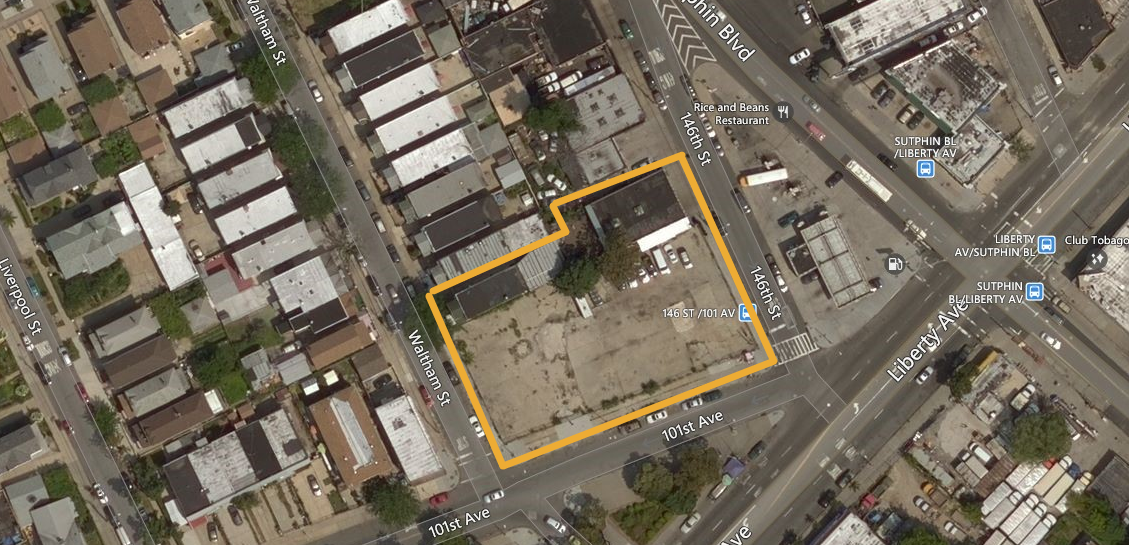 97-34 Sutphin Boulevard, image via Bing Maps