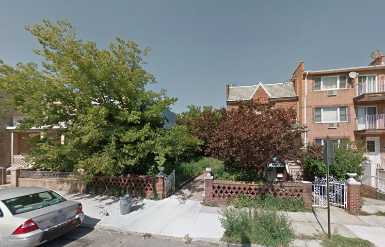 1837 Benson Avenue in August 2014, image via Google Maps