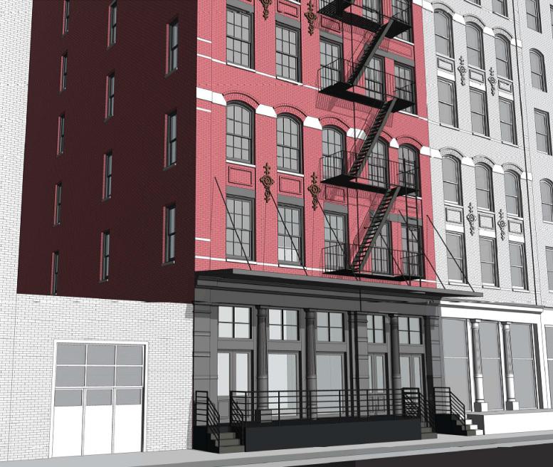 28 North Moore Street, rendering via Valyrian Capital