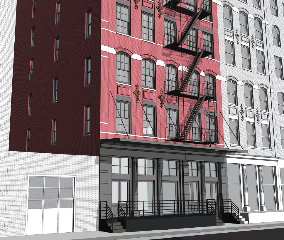 28 North Moore Street, rendering via Valyrian Capital