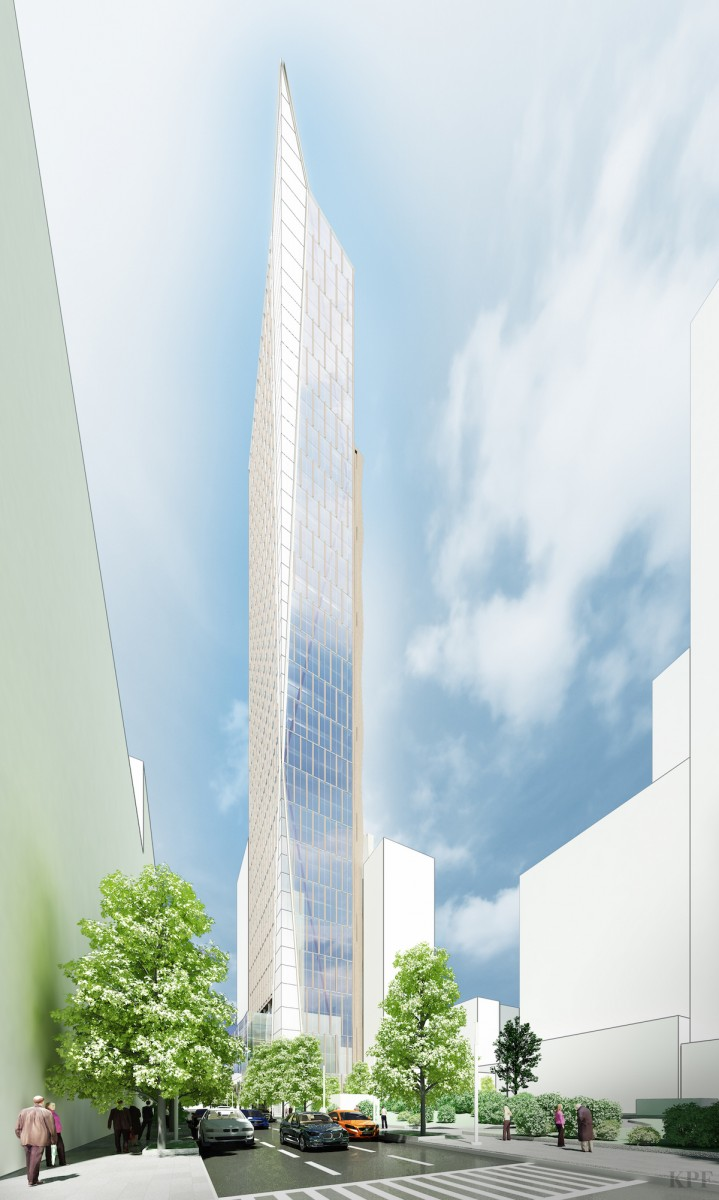 420 Albee Square, rendering by KPF