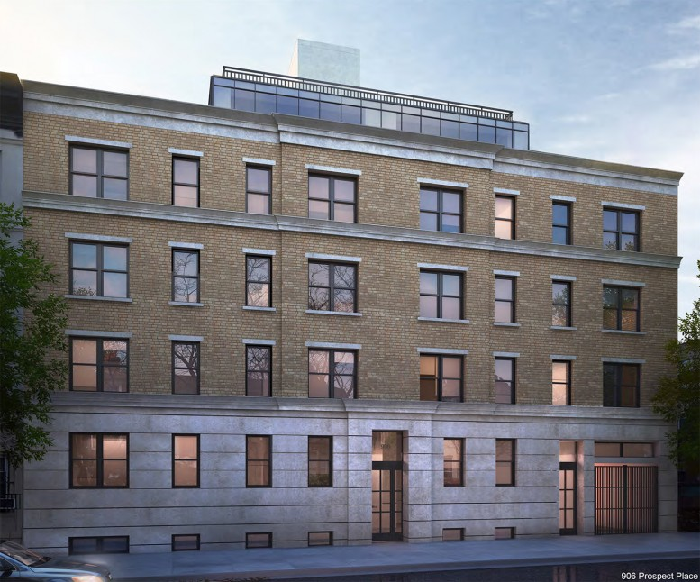 Proposal for 906 Prospect Place (not approved)