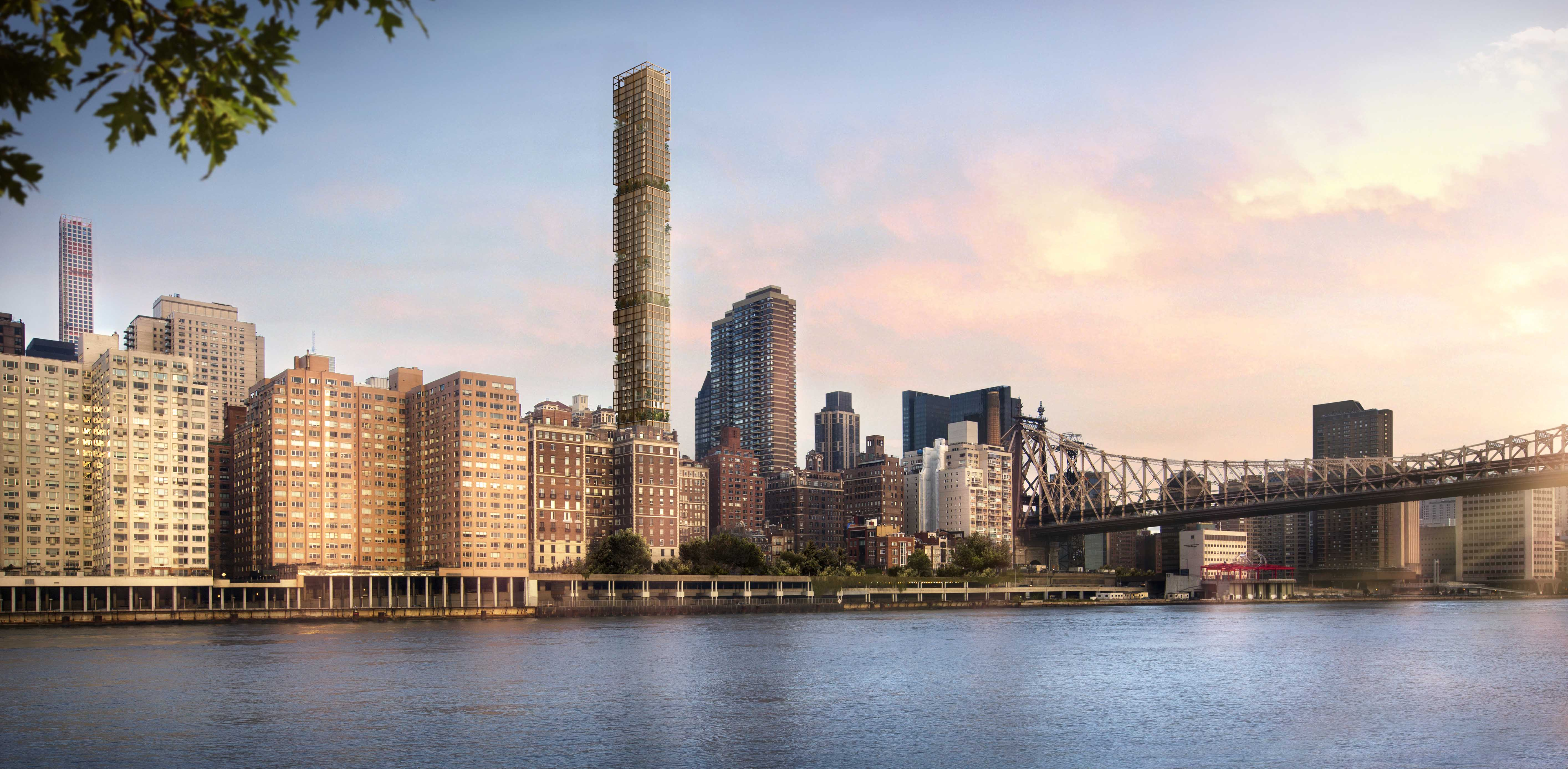 Rendering of 426-432 East 58th Street by Foster + Partners.