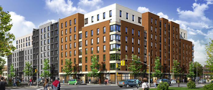 Rendering of 1755 Watson Avenue. Via Azimuth Development Group.