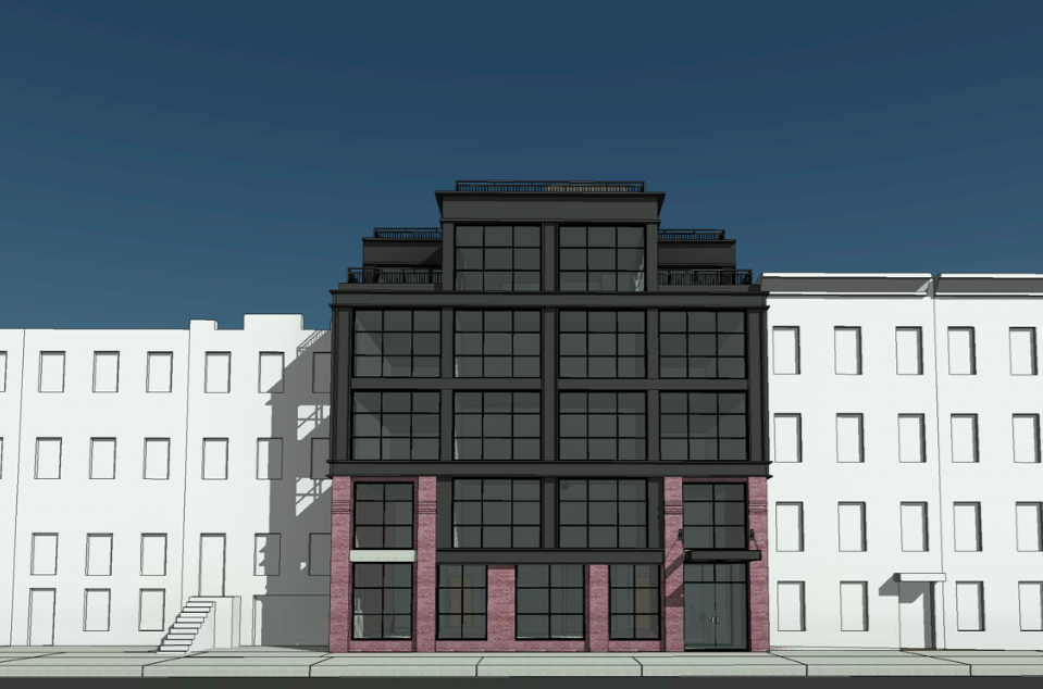 120 Java Street, rendering by Horrigan O'Malley Architects