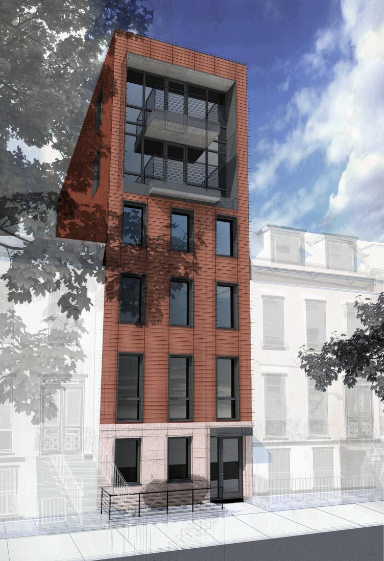 162 South Portland Avenue, rendering by PACS Architecture