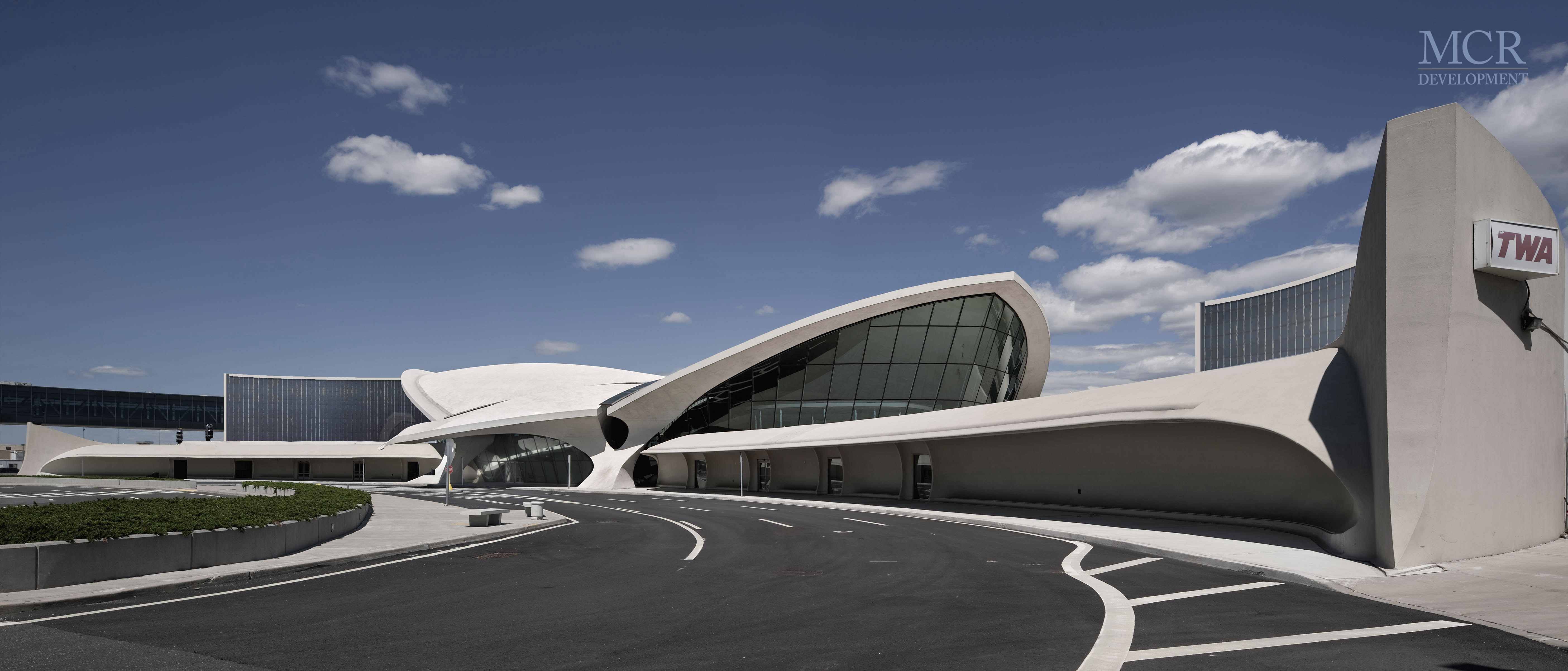 Rendering of the TWA Flight Center Hotel. Via MCR Development.