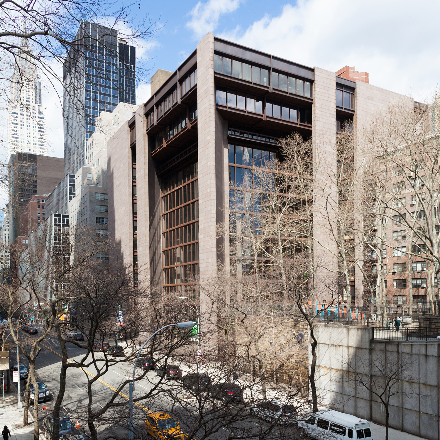 The Ford Foundation Building. Photo by Addison Godel/Flickr.