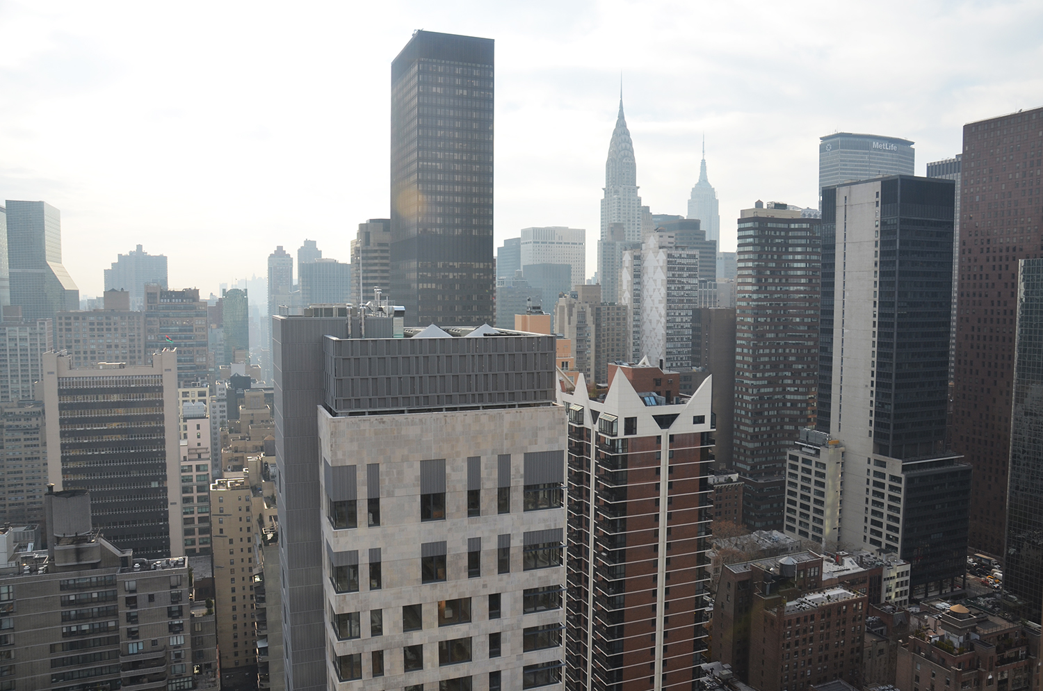 View from the 32nd floor of Halcyon at 305 East 51st Street. All photographs by Evan Bindelglass unless otherwise noted.