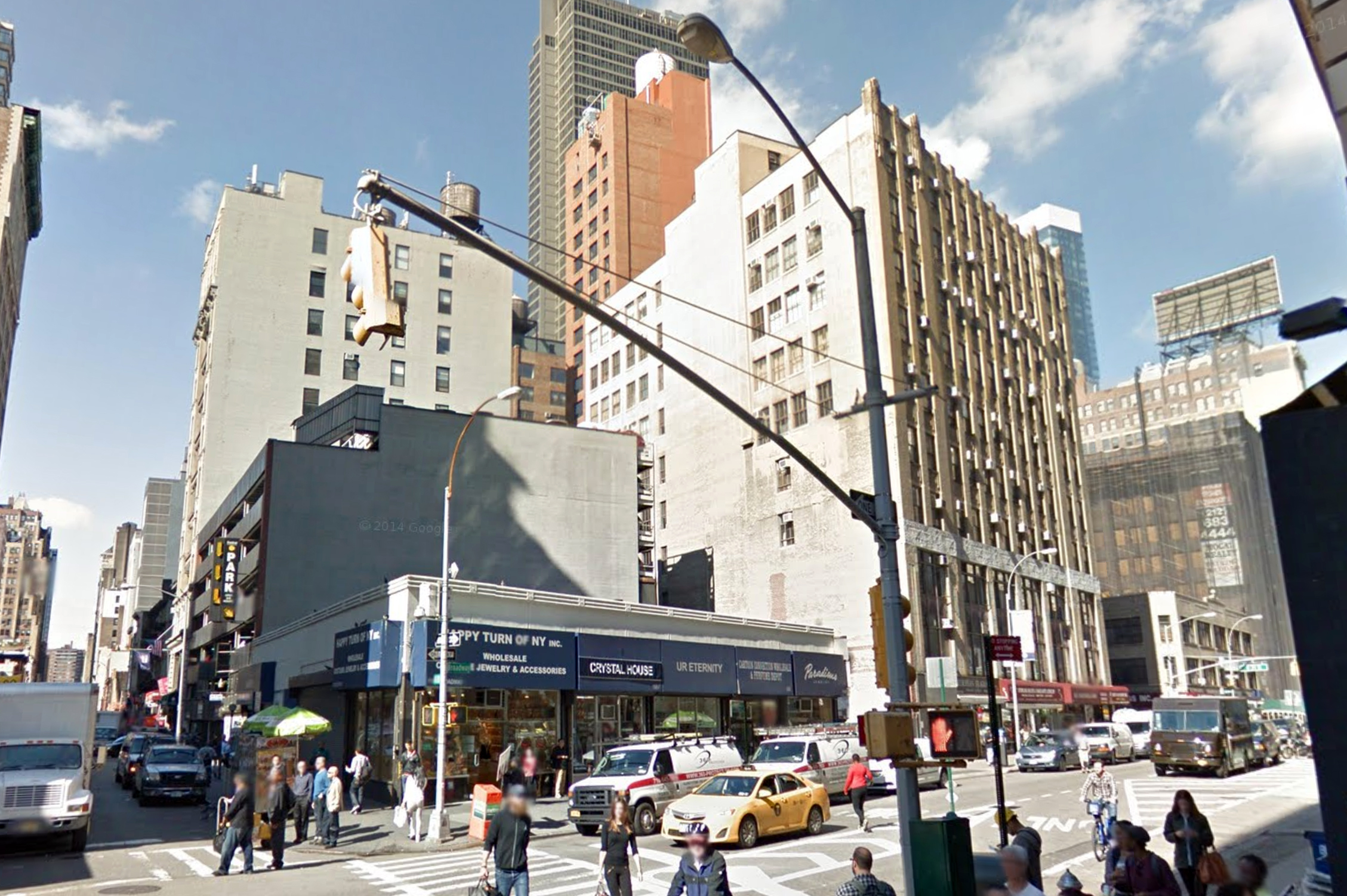1185 Broadway, October 2014. Photo via Google Maps.