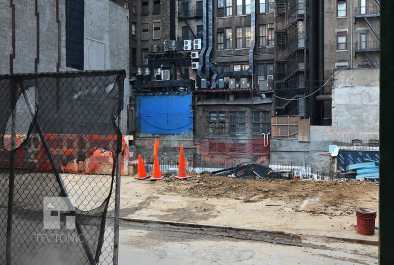 Work at 38 West 33rd Street. Photo by Tectonic.