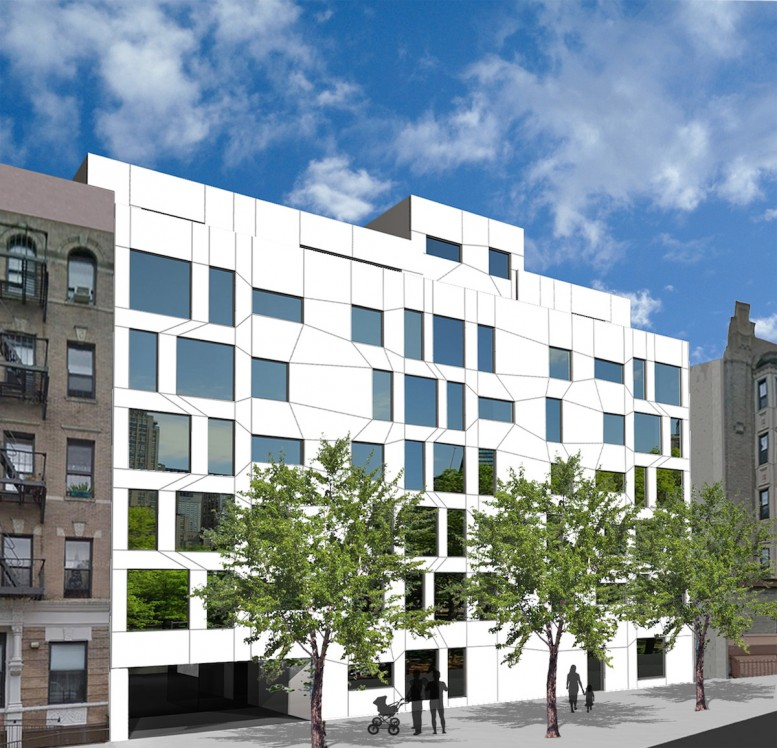 542 West 153rd Street, rendering by Chris Benedict