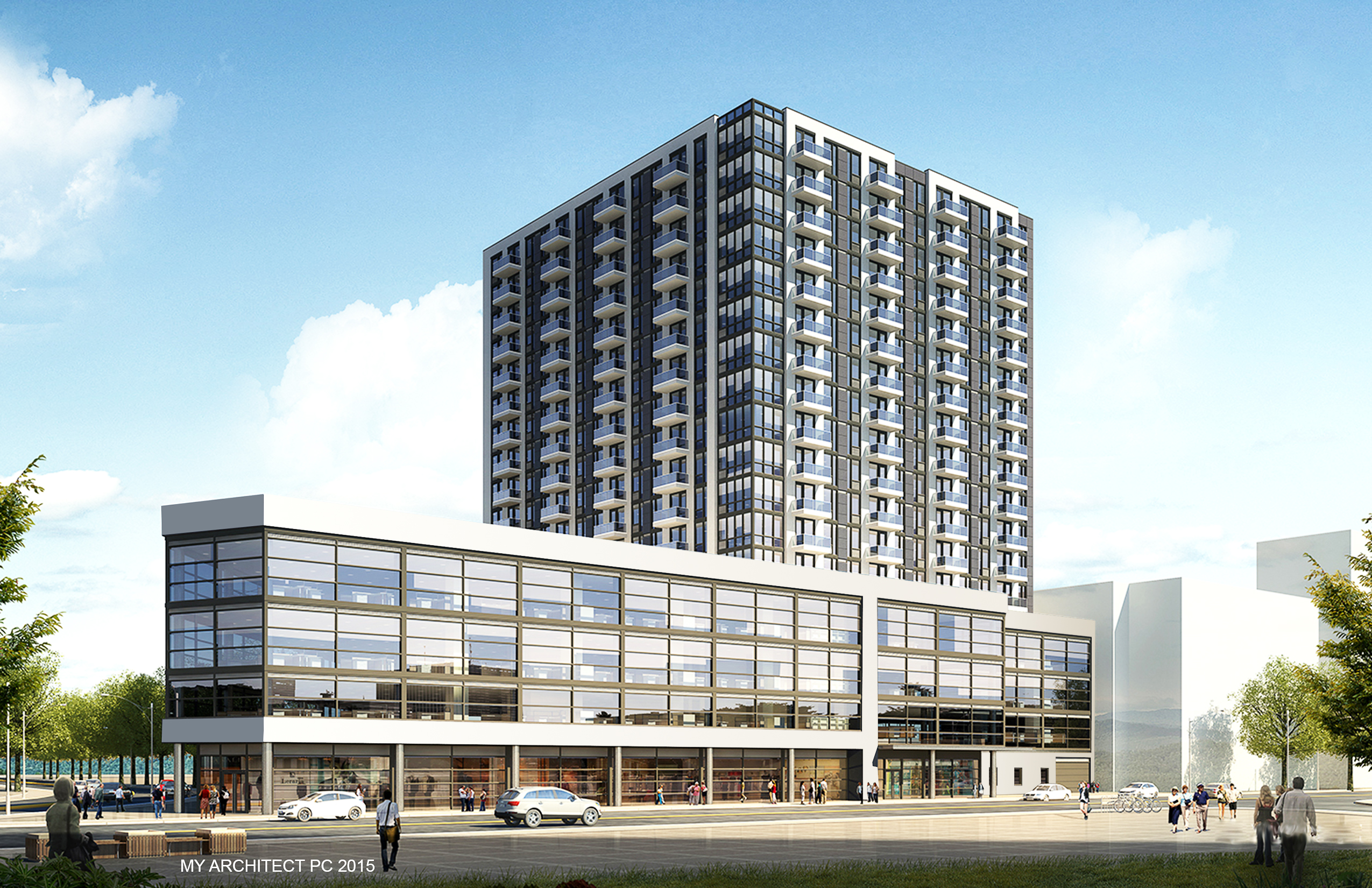 88-08 Justice Avenue, rendering by My Architect PC