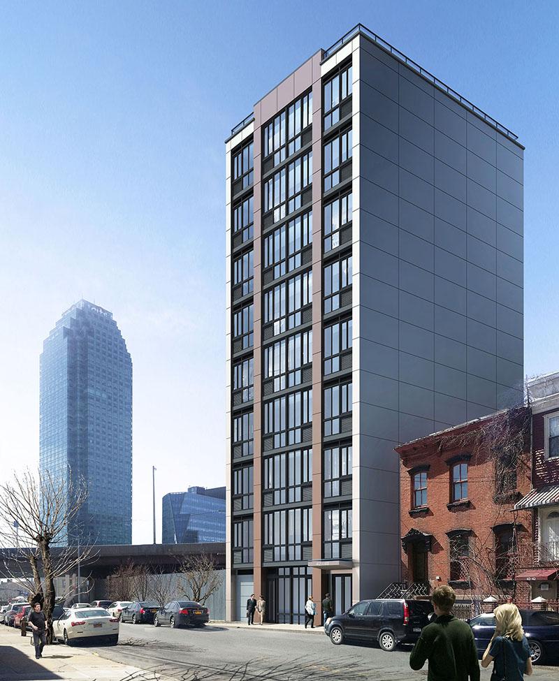 Rendering of 42-50 27th Street. Via MY Architect.