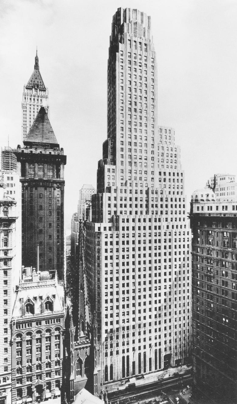 Historic photo of 1 Wall Street.