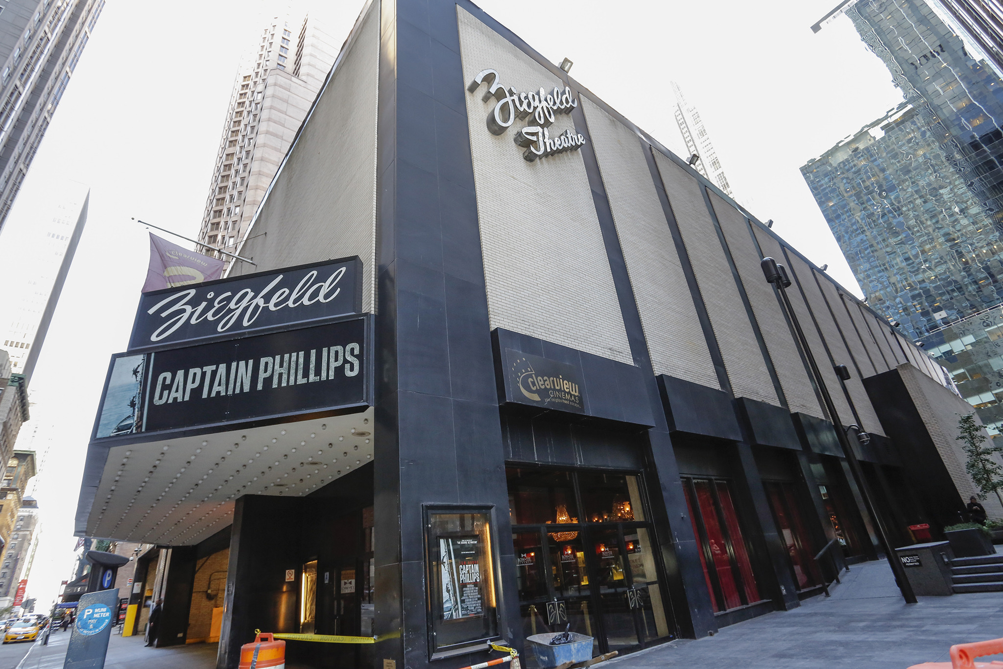 Ziegfeld Theater To Be Converted Into An Event Venue At 141 West 54th Street Midtown New York Yimby