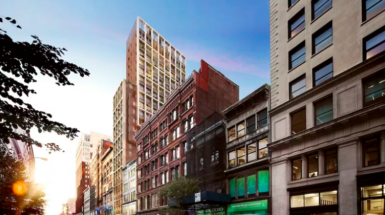 39 West 23rd Street, rendering by COOKFOX