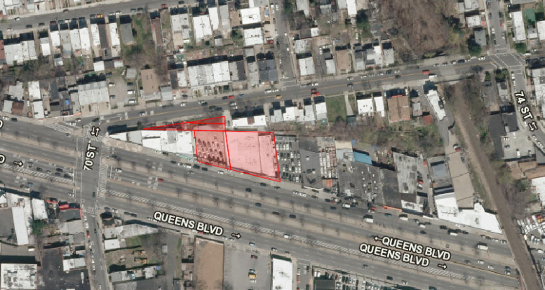 70-40 45th Avenue, image via Department of City Planning