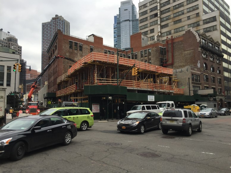 Construction at 117 Livingston Street. Photo by Tectonic.