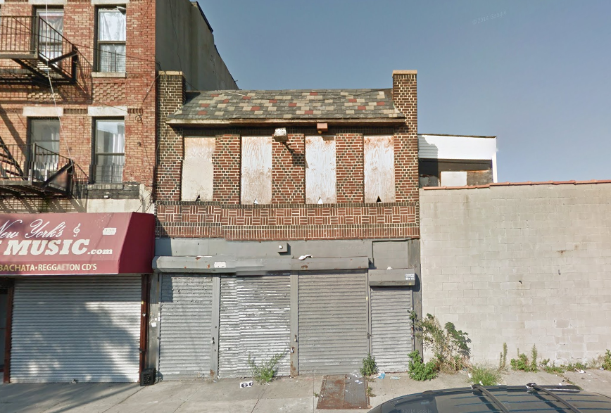 120 Thatford Avenue in September 2014, image via Google Maps