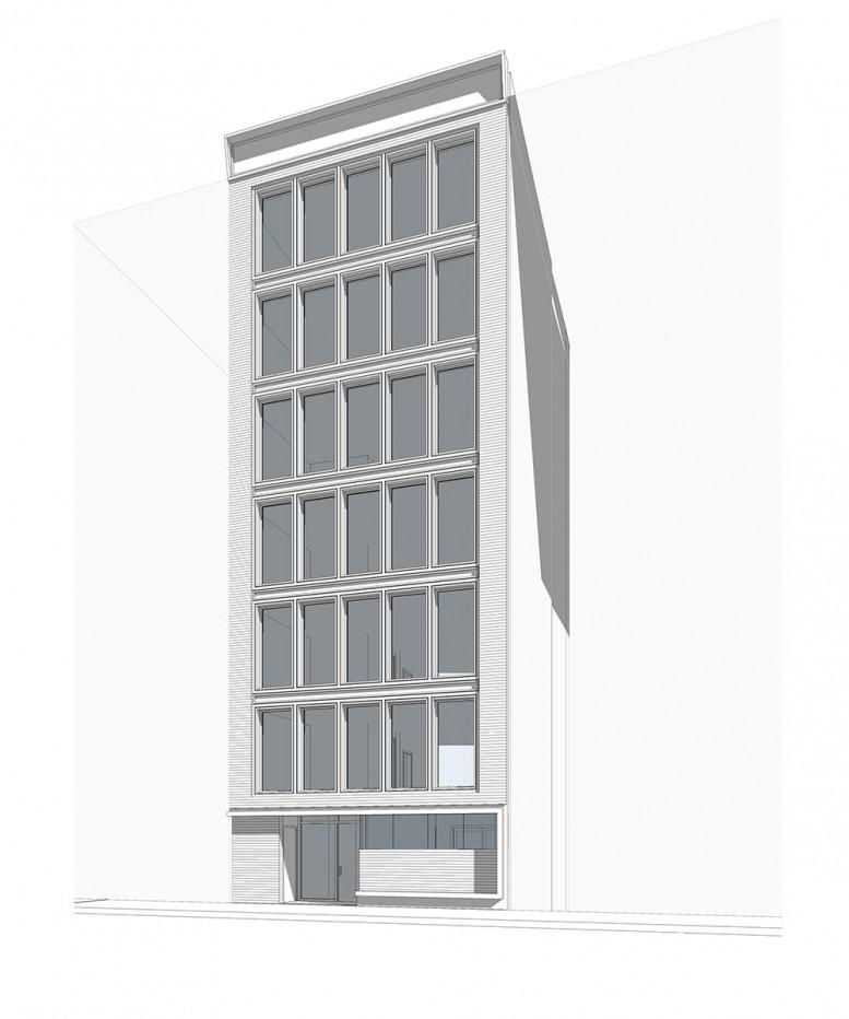 142 West 19th Street, rendering via Urban Standard Development