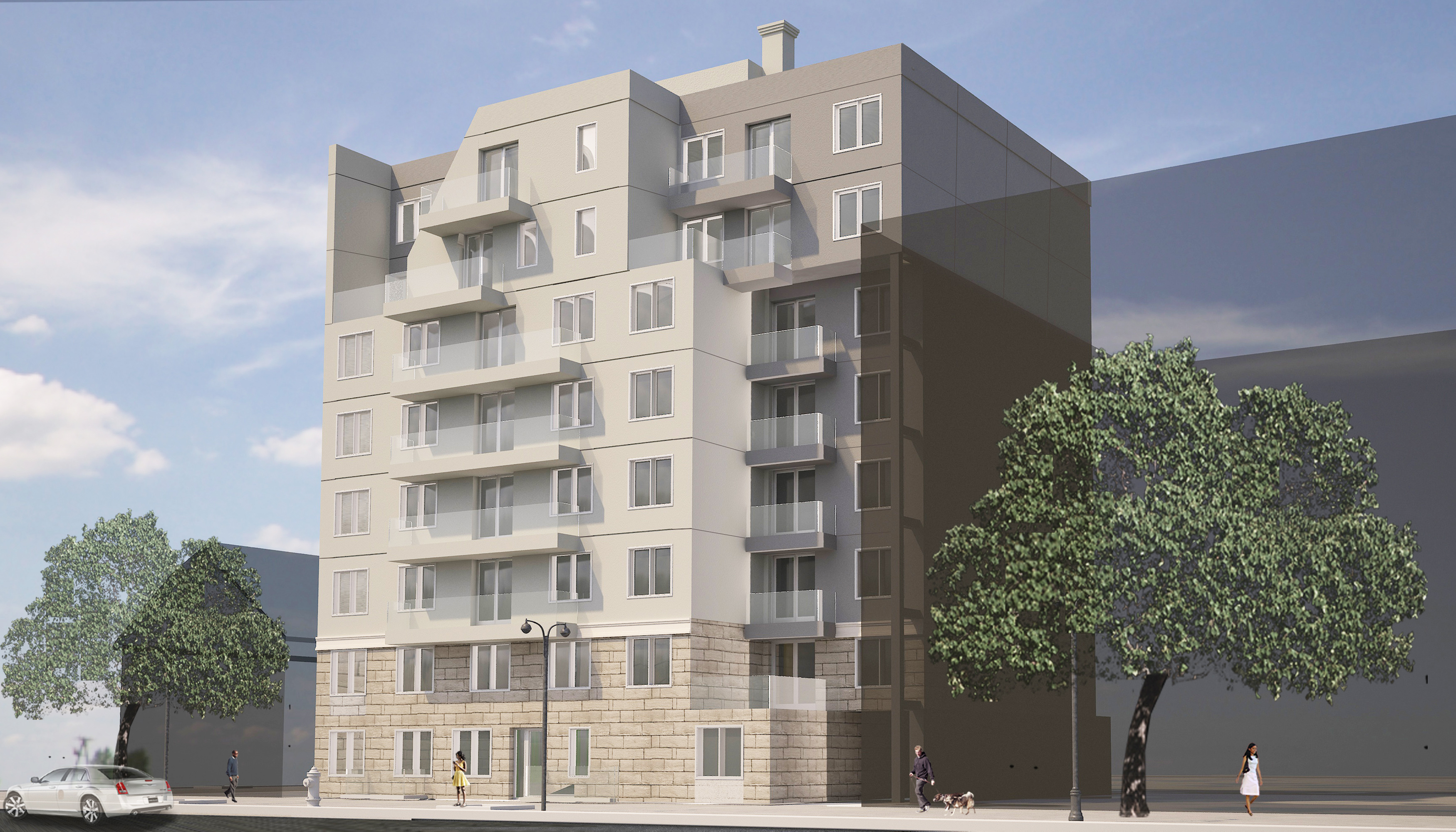 168 Avenue P, rendering by Chi F. Lau Architect