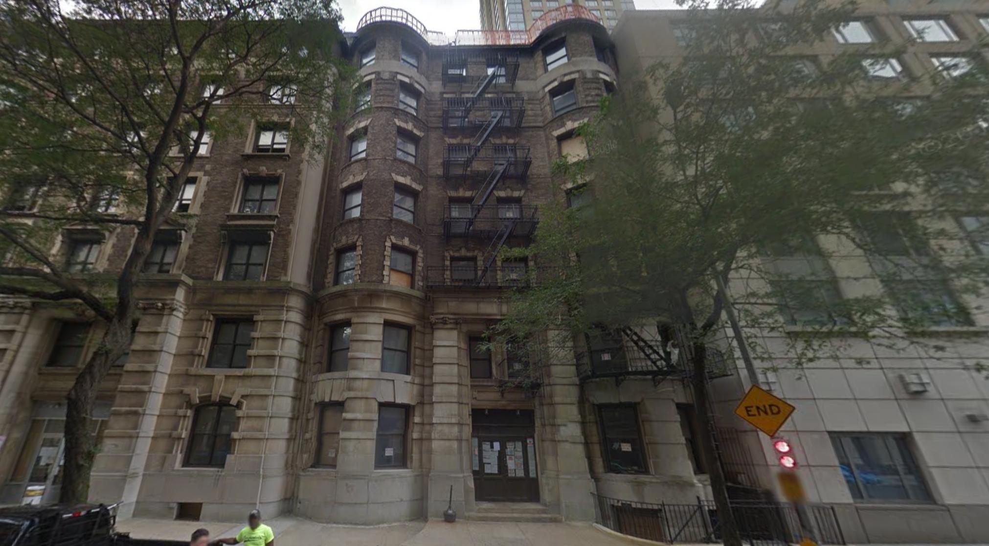 346-350 West 71st Street, image via Google Maps