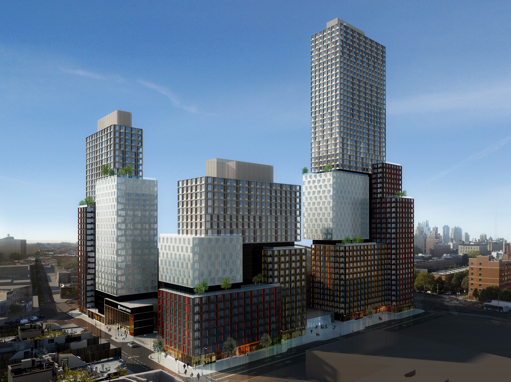 38 Sixth Avenue with B2 and B4. rendering by SHoP Architects