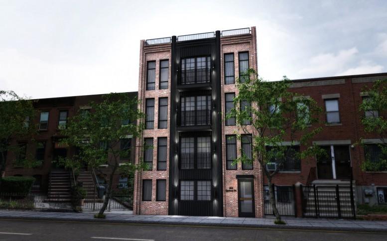 655 Quincy Street, rendering by Input Creative Studio