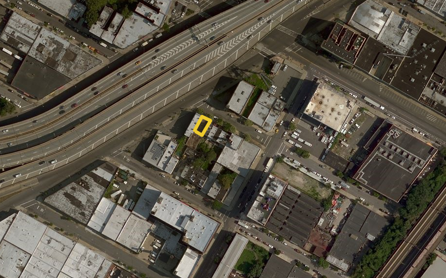 740 East 137th Street, image via Bing Maps